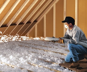 Attic insulation by ABS Insulating